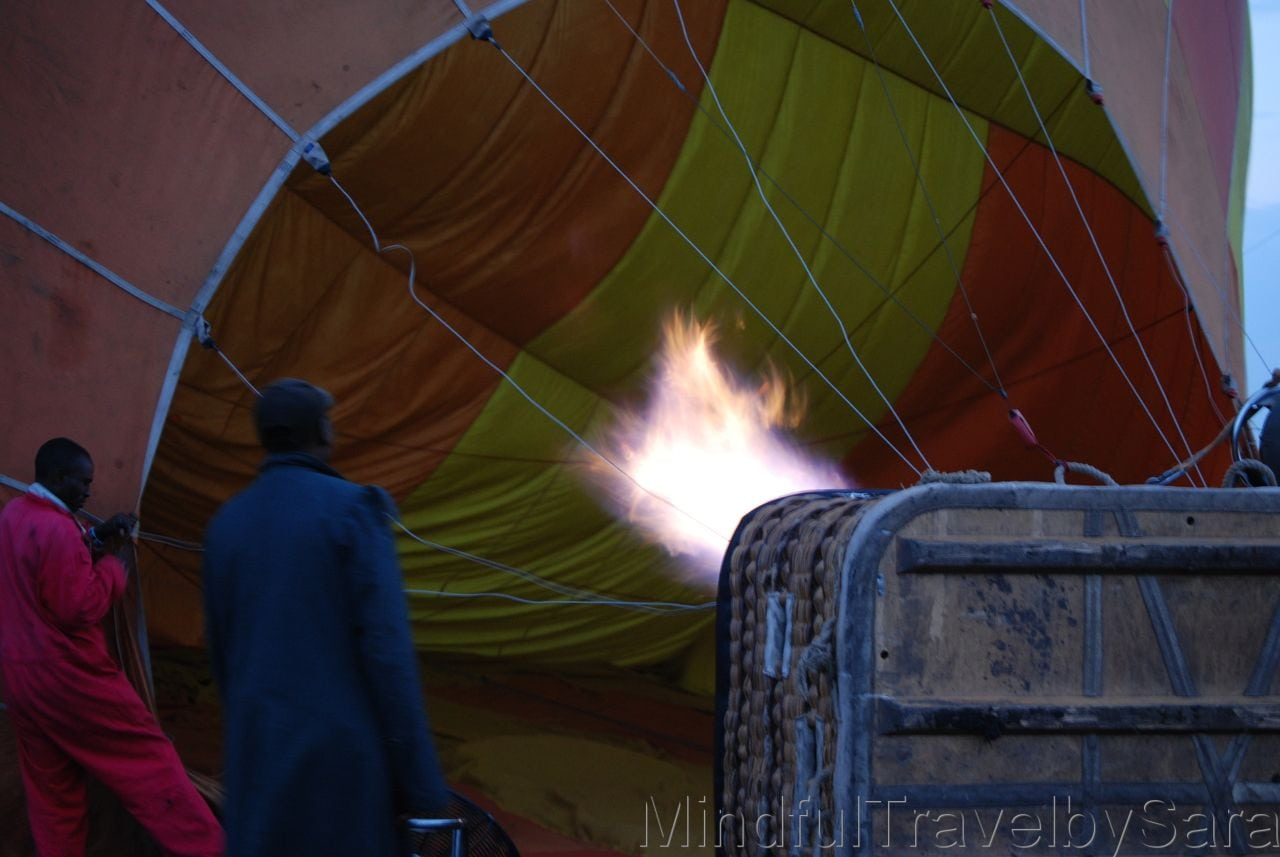 safari en globo masai mara