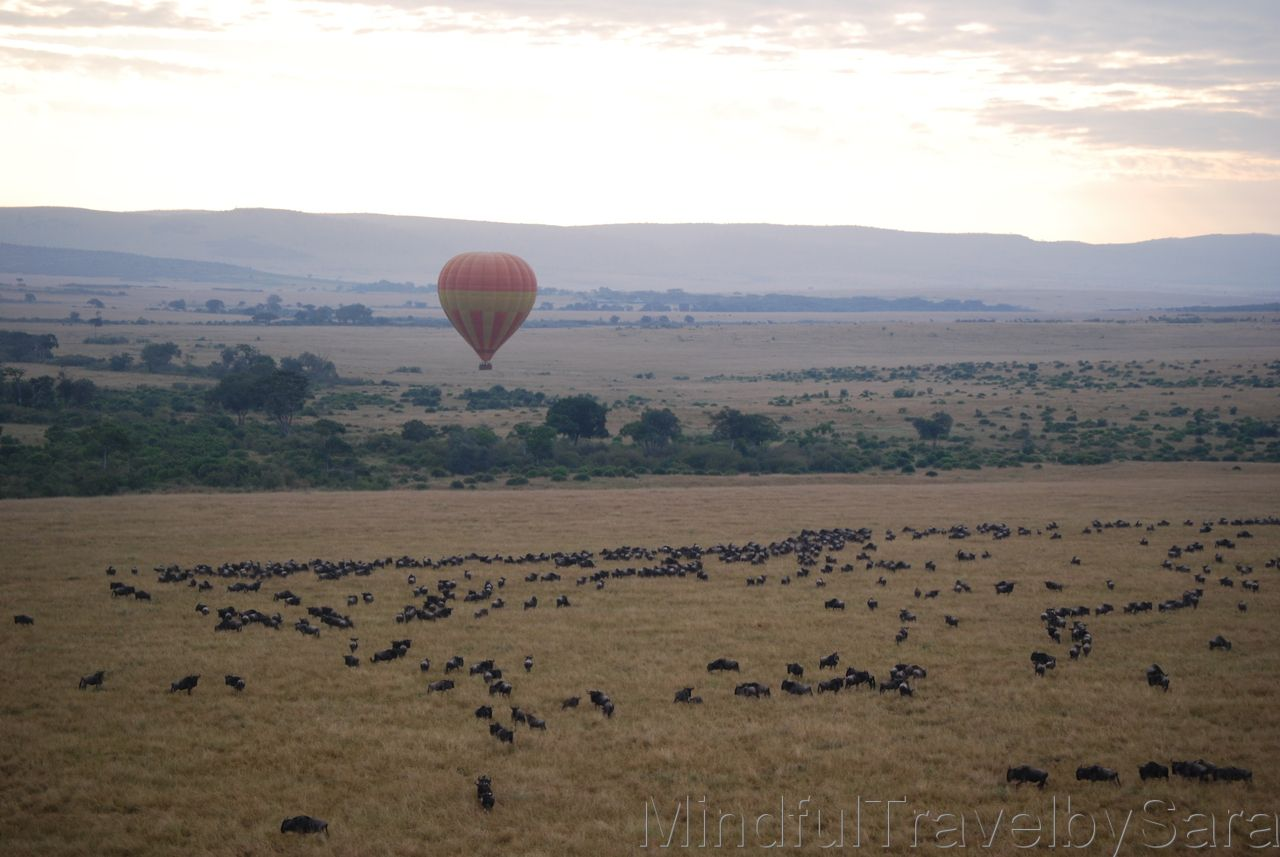 excursion en globo kenia