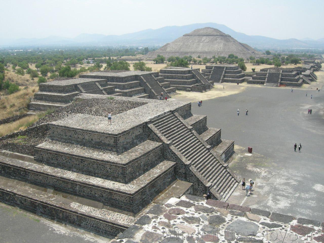 piramide de Teotihuacan