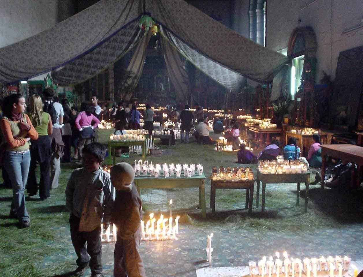 Iglesia San Juan Bautista Chamula