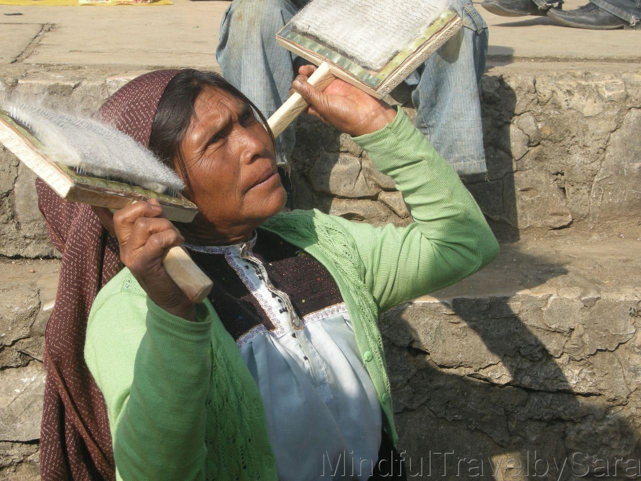 San Juan Chamula mujer Mexico