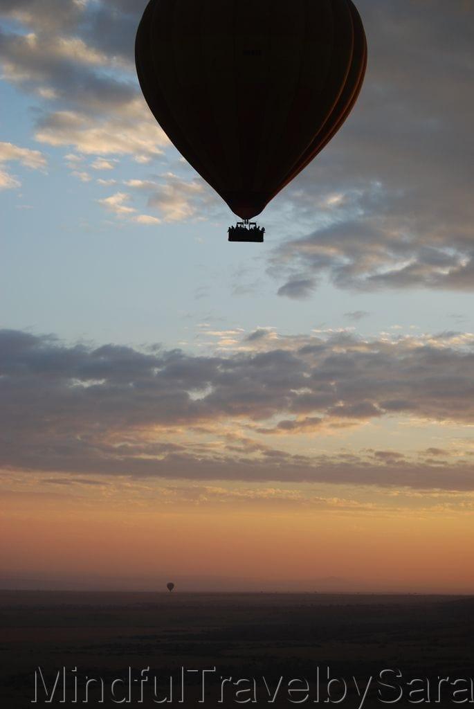 Viaje en Globo en Kenia al Amanecer en Masai Mara