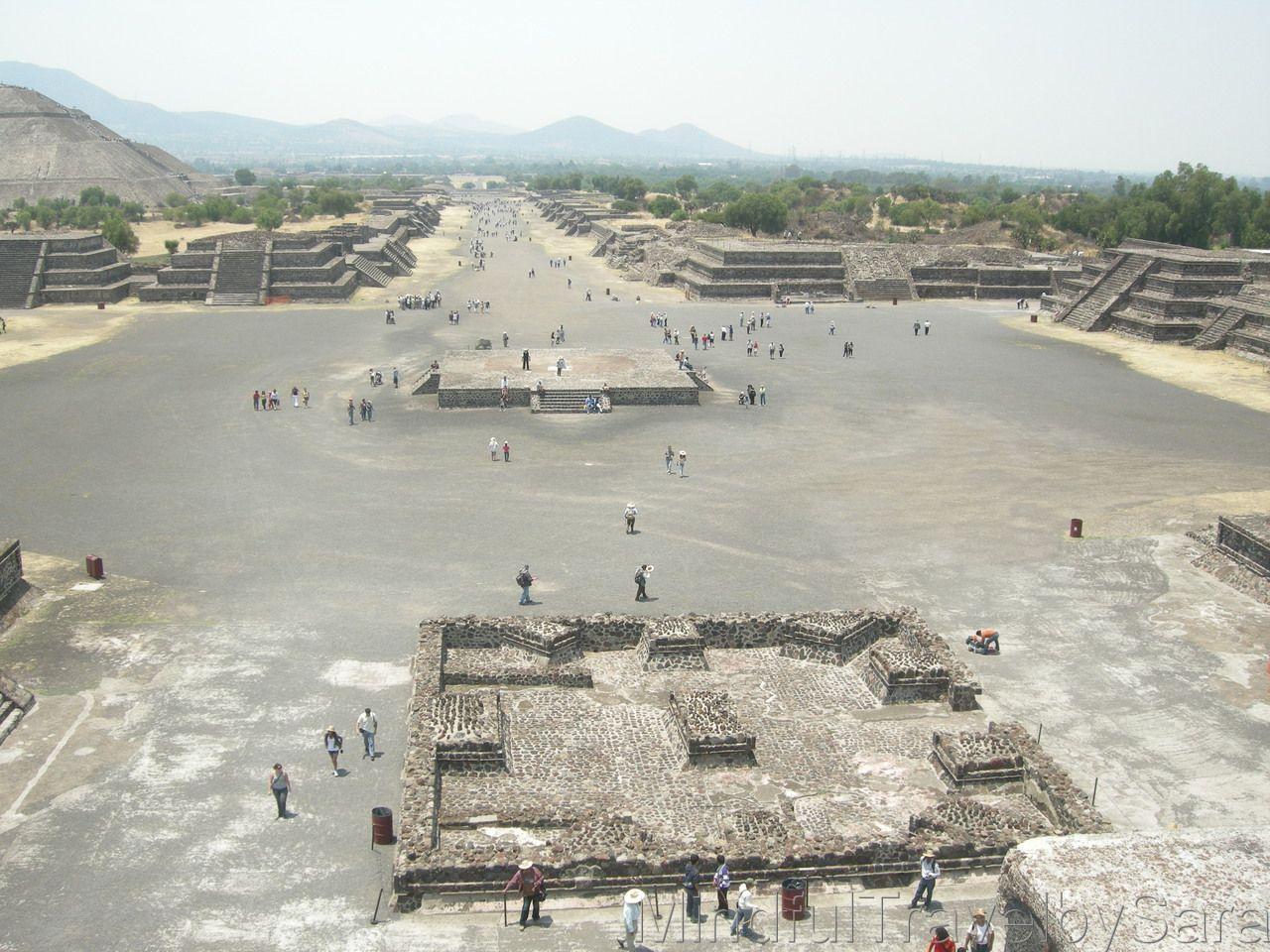 las piramides de Teotihuacan Mexico