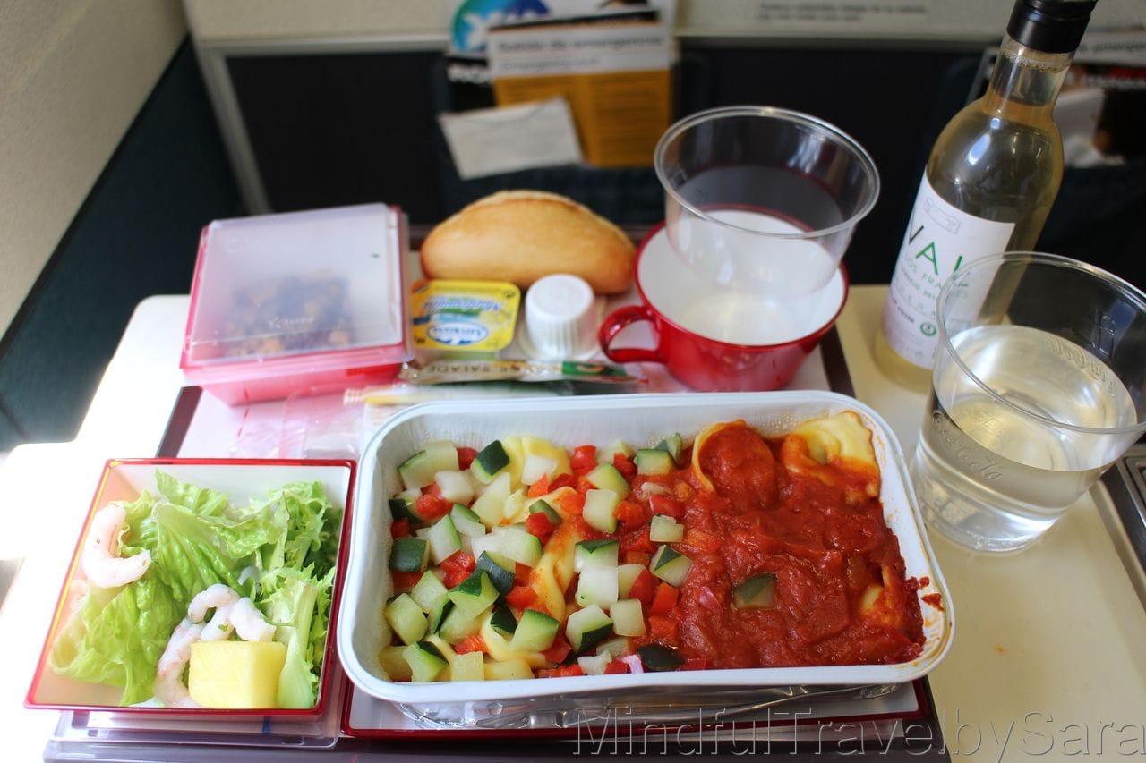 Comida del Avión