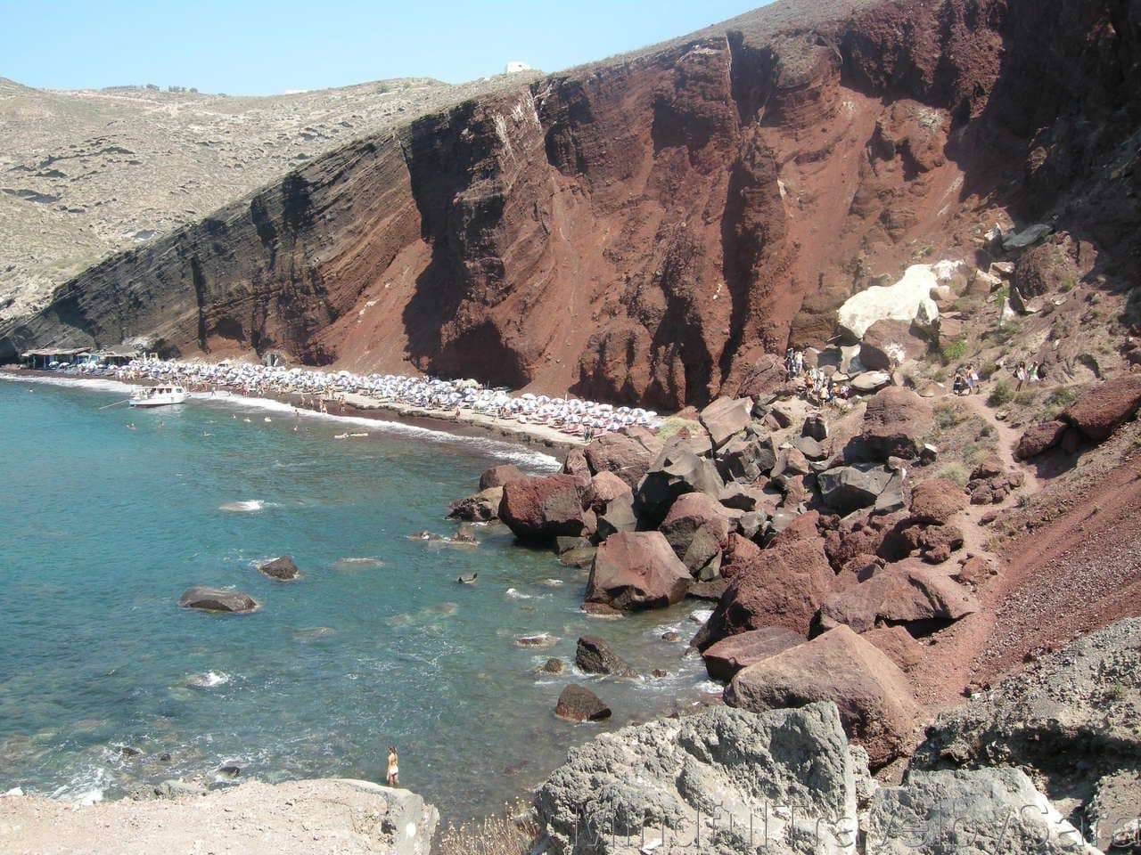 Playas de Santorini