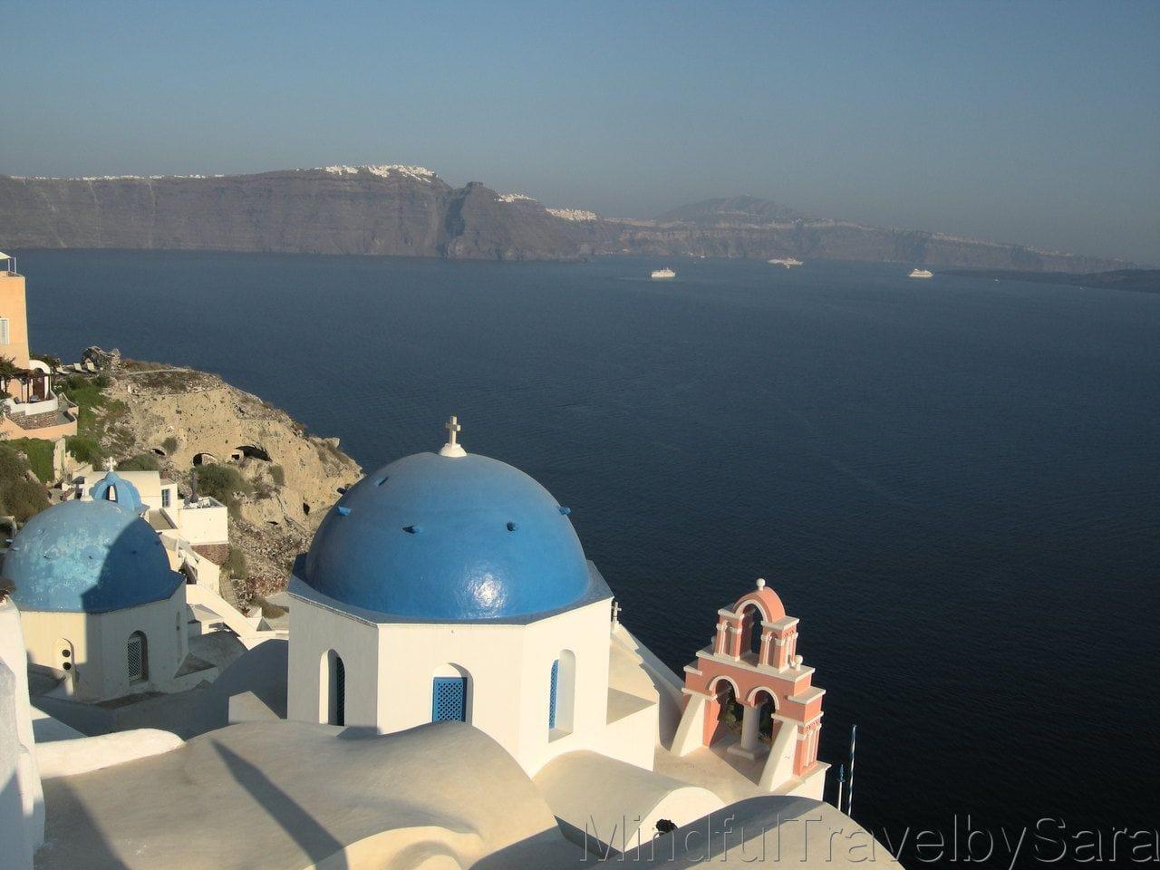 Vistas de Santorini
