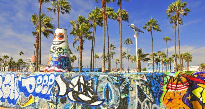 Playa de Venice Los Angeles California