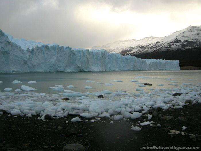 Paisaje natural Glaciar Perito Moreno