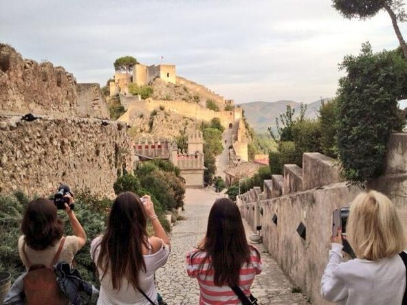 Castillo Xativa Bloggers