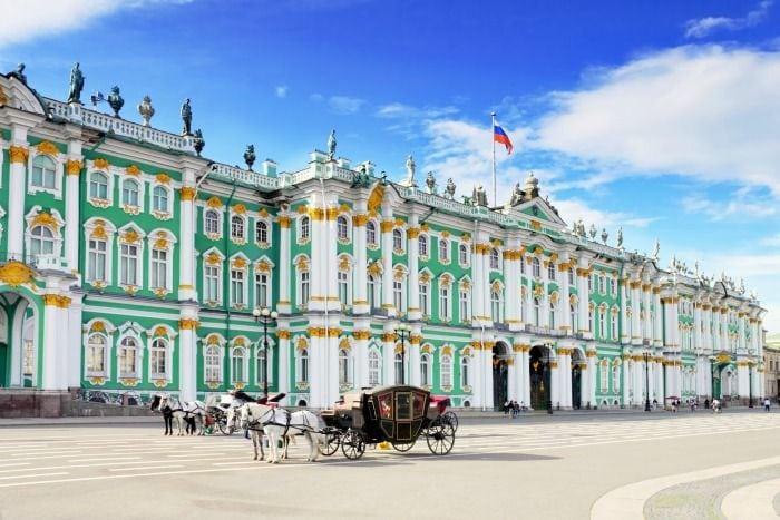Un dia en San Petersburgo