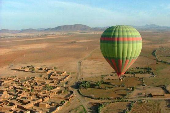 Vuelo globlo Marrakech