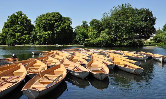 Bois de Boulogne lago