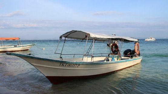 llegar a Pulau Kapas