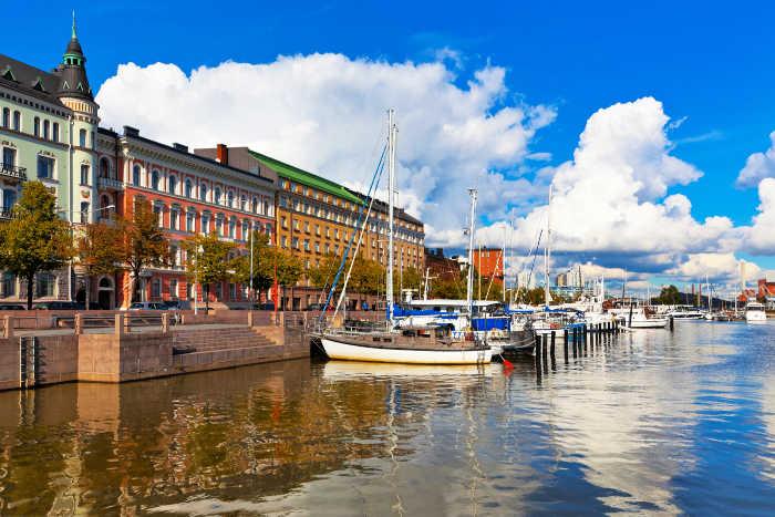 Helsinki capital of Finland