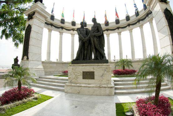Hemiciclo de la Rotonda Guayaquil