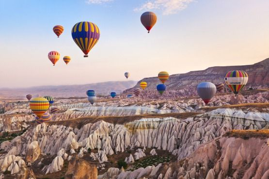 viaje en globo capadocia turquia