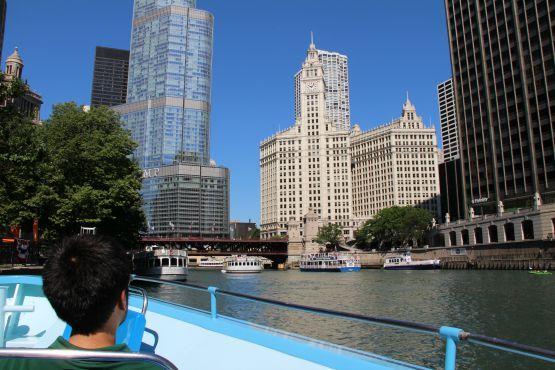 Chicago en barco