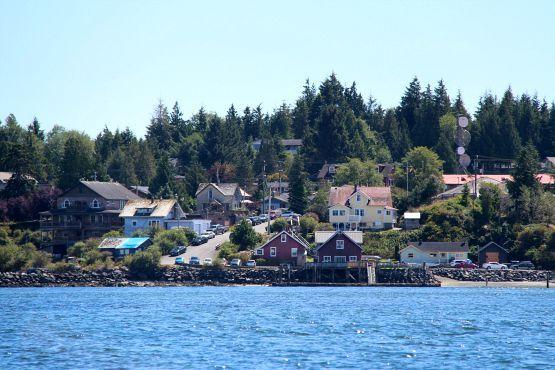 Pueblo Tofino isla de Vancouver