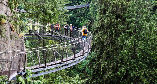 Puente Suspendido de Capilano Vancouver Canada