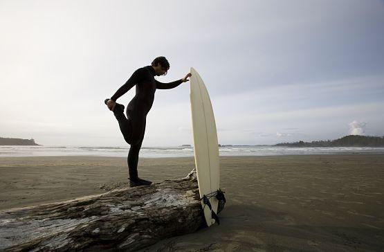 Surf isla de Vancouver