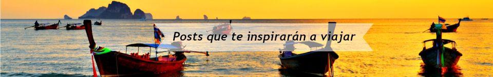 Posts que te inspirarán a viajar