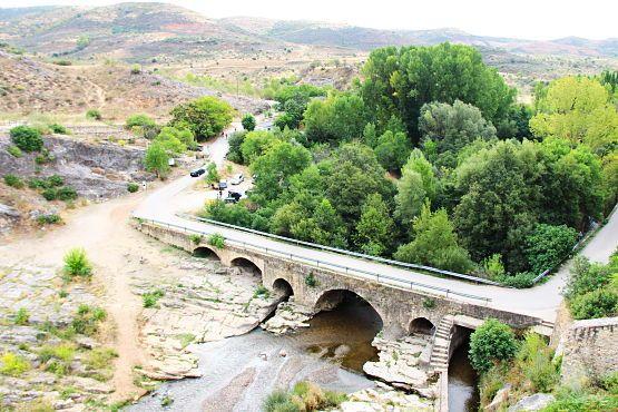 Vistas desde la presa del ponton de la oliva