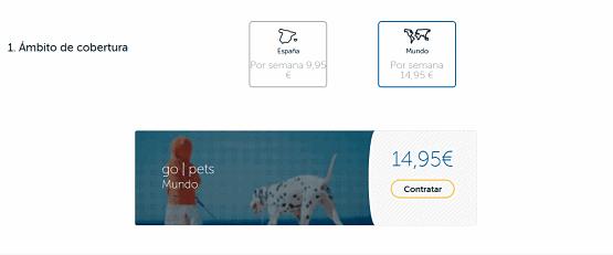 seguro de viaje para perros