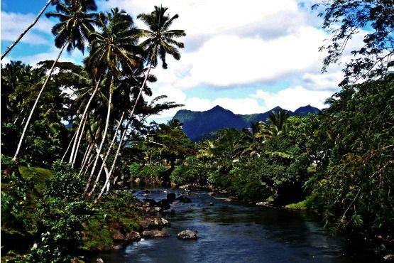 Upolu en Samoa