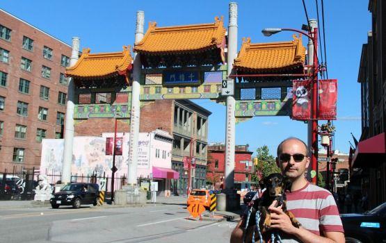 Viajar con Perro a Canadá Vancouver Chinatown