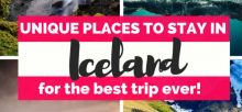 Best places to stay in iceland for northern lights