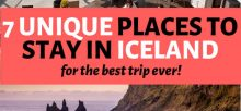 Cheap places to stay in Iceland