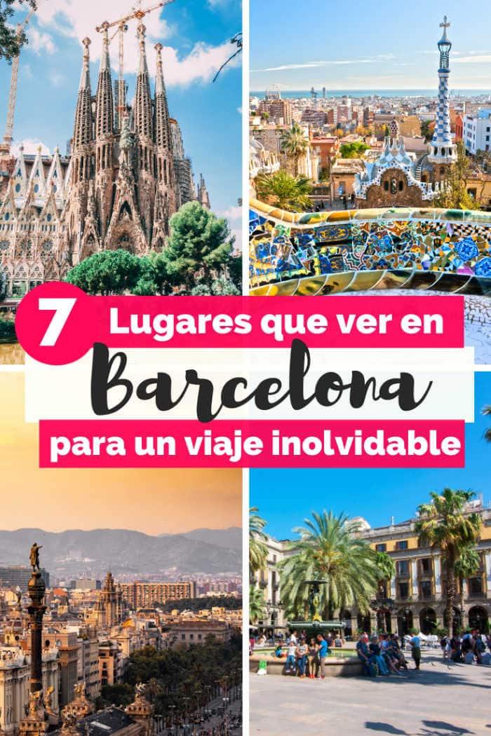 Mejores Lugares turísticos que visitar en Barcelona