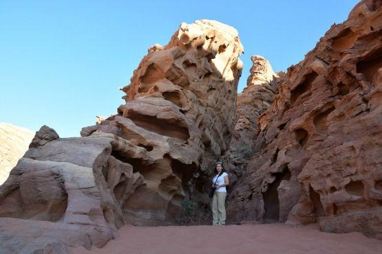 Roca roja Wadi Rum