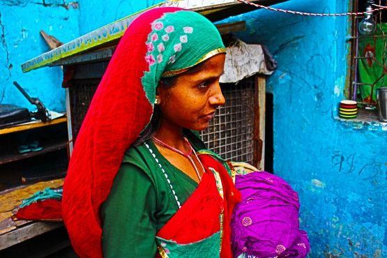imagenes de mujeres de la india