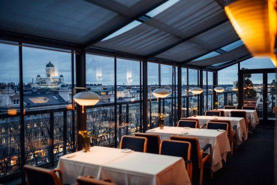 Restaurante Savoy. Helsinki
