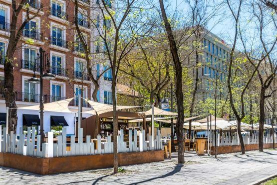 Planes verano madrid - Otto Madrid terraza