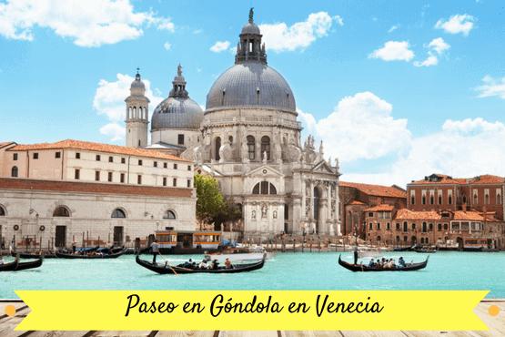 Paseo en gondola Venecia