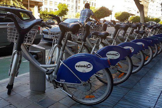 Bici en Valencia