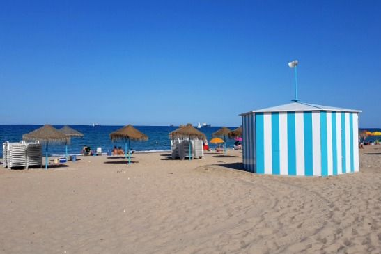 playas de Valencia España