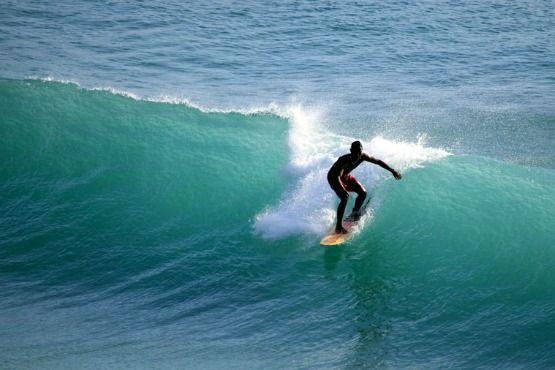 Reef Surfing in Bali