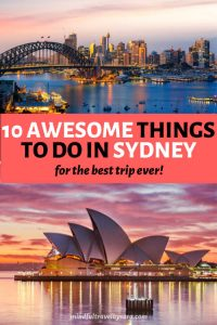 unique things to do in Sydney