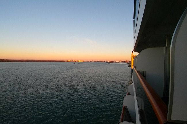 como es viajar en crucero
