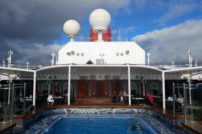 piscina del crucero
