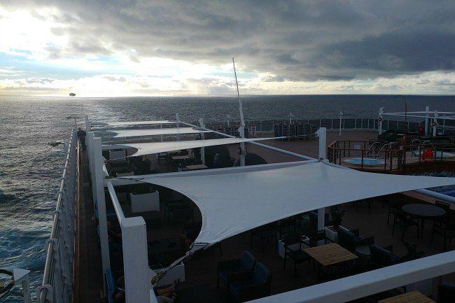 viaje en barco a bordo del Queen Victoria