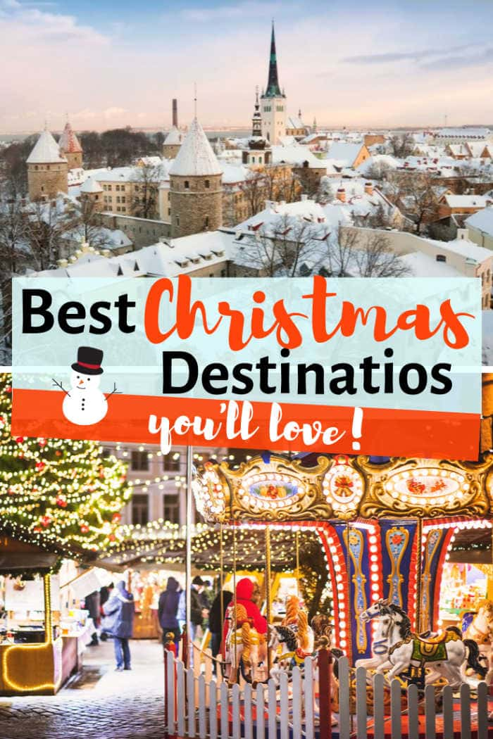 best white christmas destinations