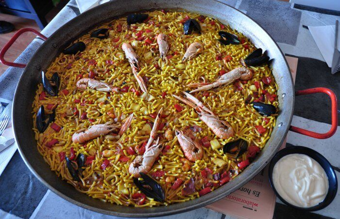 platos tipicos de valencia
