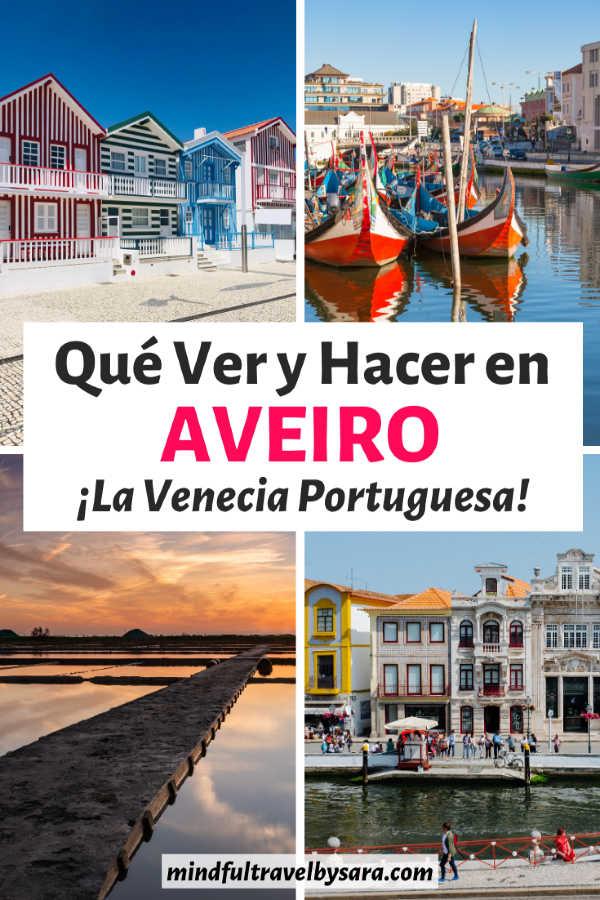 Que ver y hacer en Aveiro Portugal
