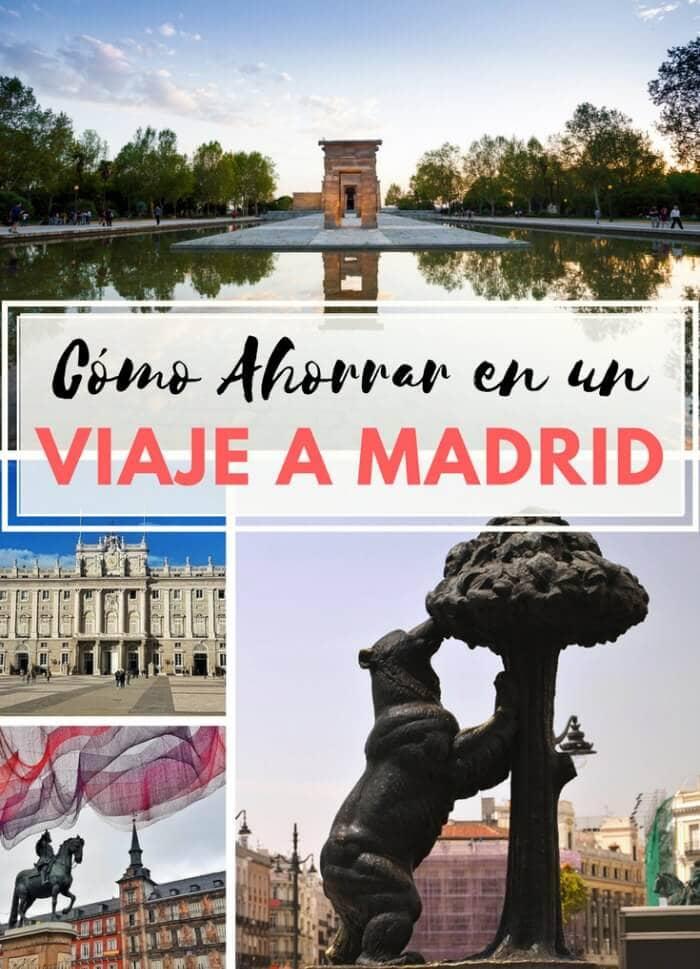 Ahorrar en tu viaje a Madrid
