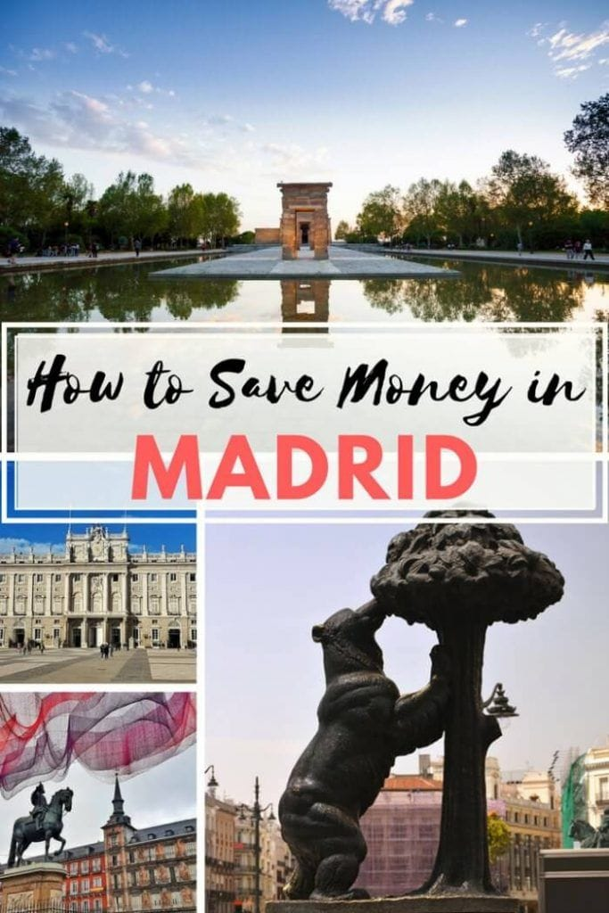 madrid on a budget
