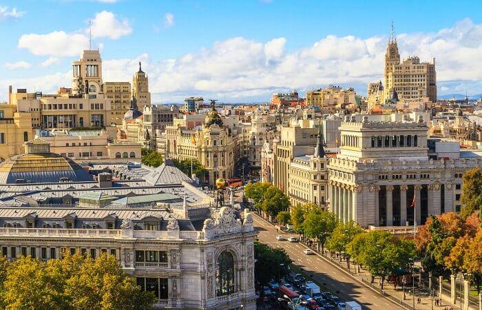 viajar barato a Madrid